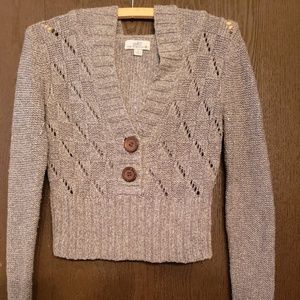Knit Sweater, Cropped, Size